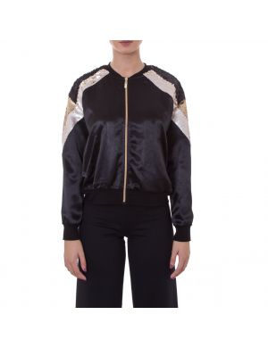 Bomber in raso lucido Twinset